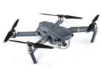 DJI Mavic Pro small drone with 4K camera and 3-axis mechanical gimbal, DJI Mavic Pro
