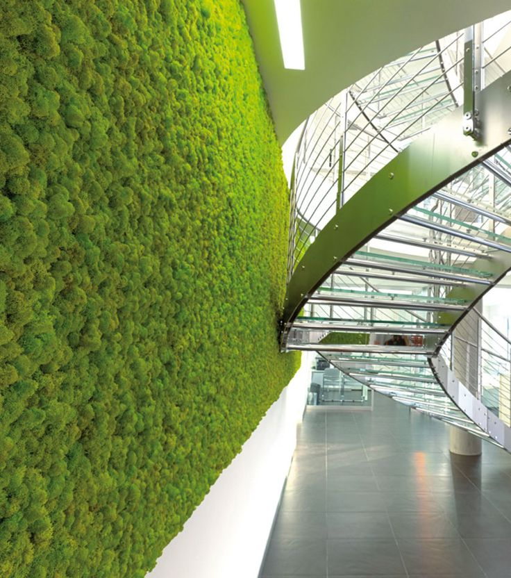 Smart Acoustic Green wall