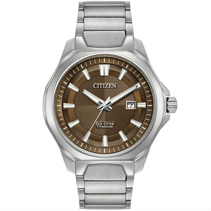 Citizen Mens Eco Drive Super Titanium Bracelet Watch AW1540-88X