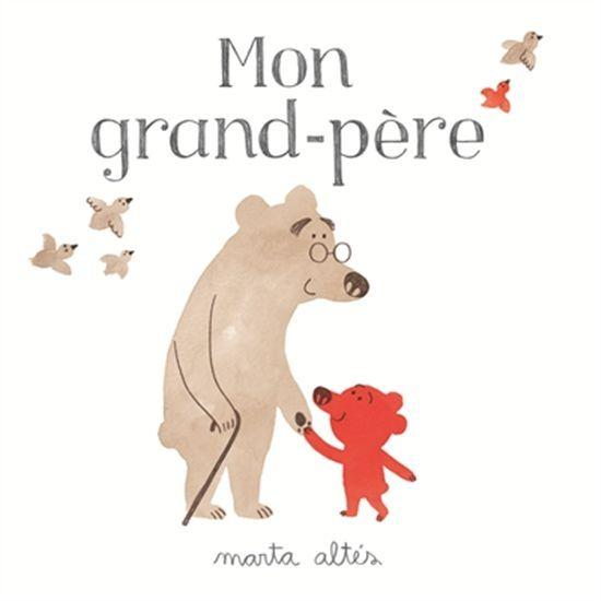 Cet album illustre les moments passés avec grand père et le lien d'affection entre les grands-parents et leurs petits-enfants.