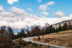 The beautiful Transalpina Road