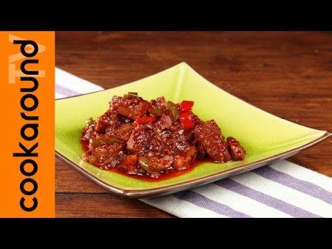 Pancetta con doppia cottura in stile cinese - YouTube