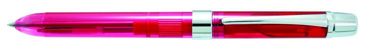 Шариковая ручка Penac Ele 001 многофункциональная цвет корпуса розовый