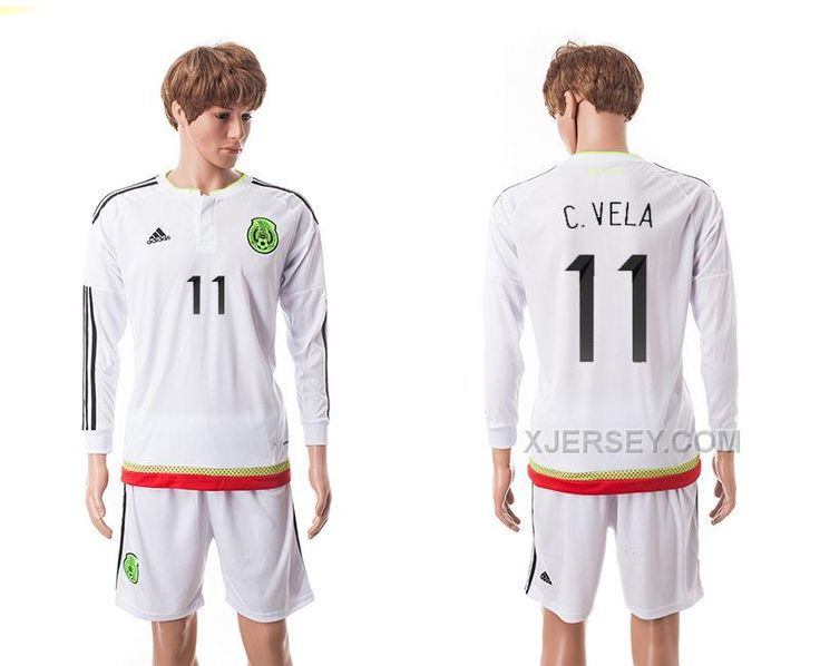 0de3bb58c6b uk httpxjersey201516 mexico 11 . mexicolong sleevejersey 9 mexico raul  jimenez mens jersey white away long