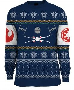 Star Wars: X-Wing Vs TIE Fighter Unisex Knitted Christmas Sweater