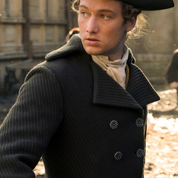 """I am still at a loss as who I should """"cast"""" for the part of the hero in the story...so here's just a random guy in 1700s dress for now."""
