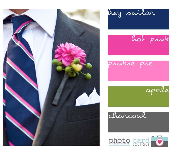 What Colors Go With Hot Pink 18 best pink and gray weddings images on pinterest | marriage