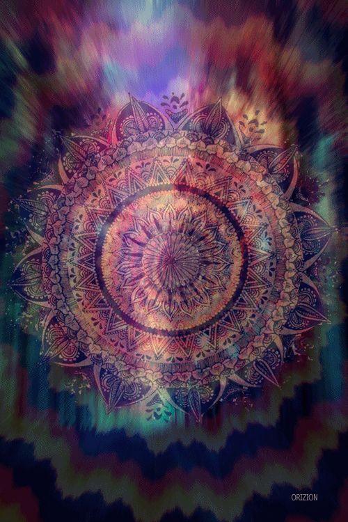 Psychedelic Mandala gif by Orizion