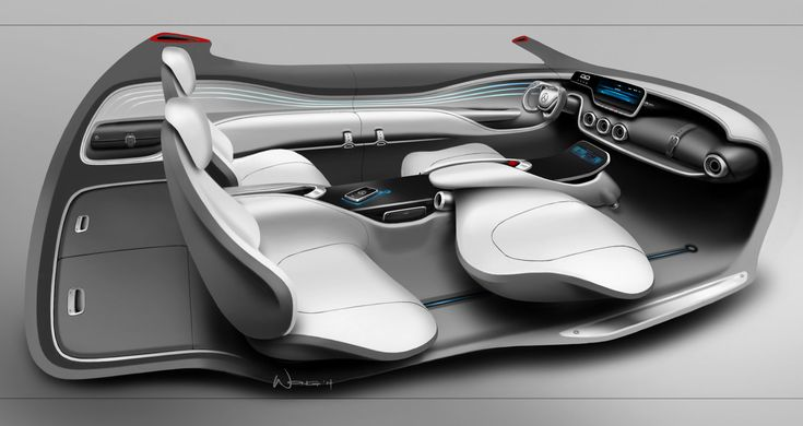 Mercedes-Benz Vision G-Code Concept - Onboard driver assistance systems include a 360-degree monitoring of the surroundings via 3D cameras, radar, infra-red scanner, GPS data and an exchange of large volumes of data with the traffic infrastructure and other vehicles. - #mbhess #mbcars #mbconcept