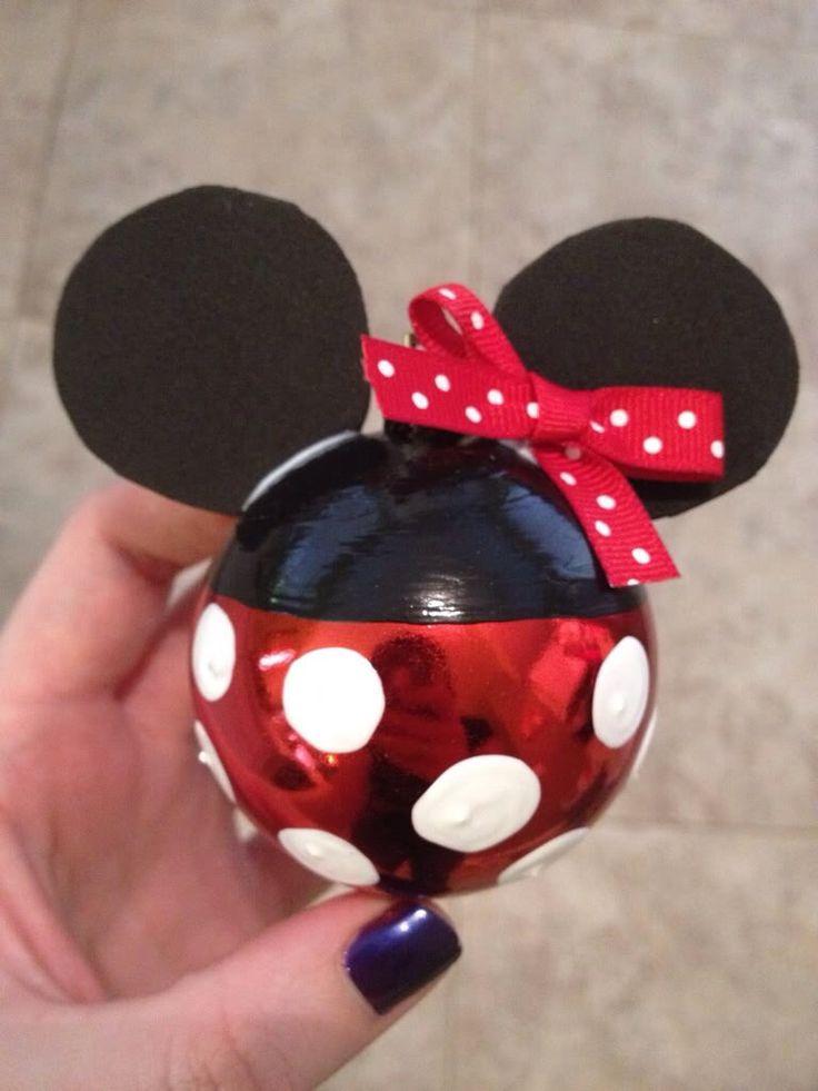 Minnie mouse kerstballen