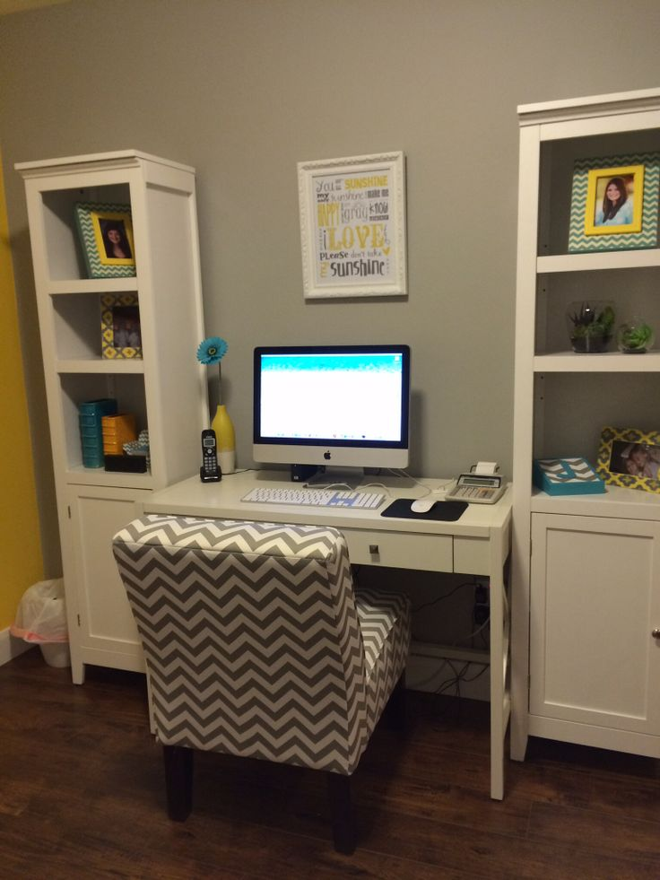Small office makeover. Love it!!!