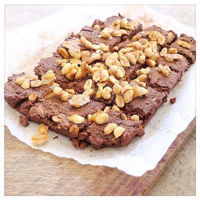 Peanut Brittle Brownies   Jessica Sepel