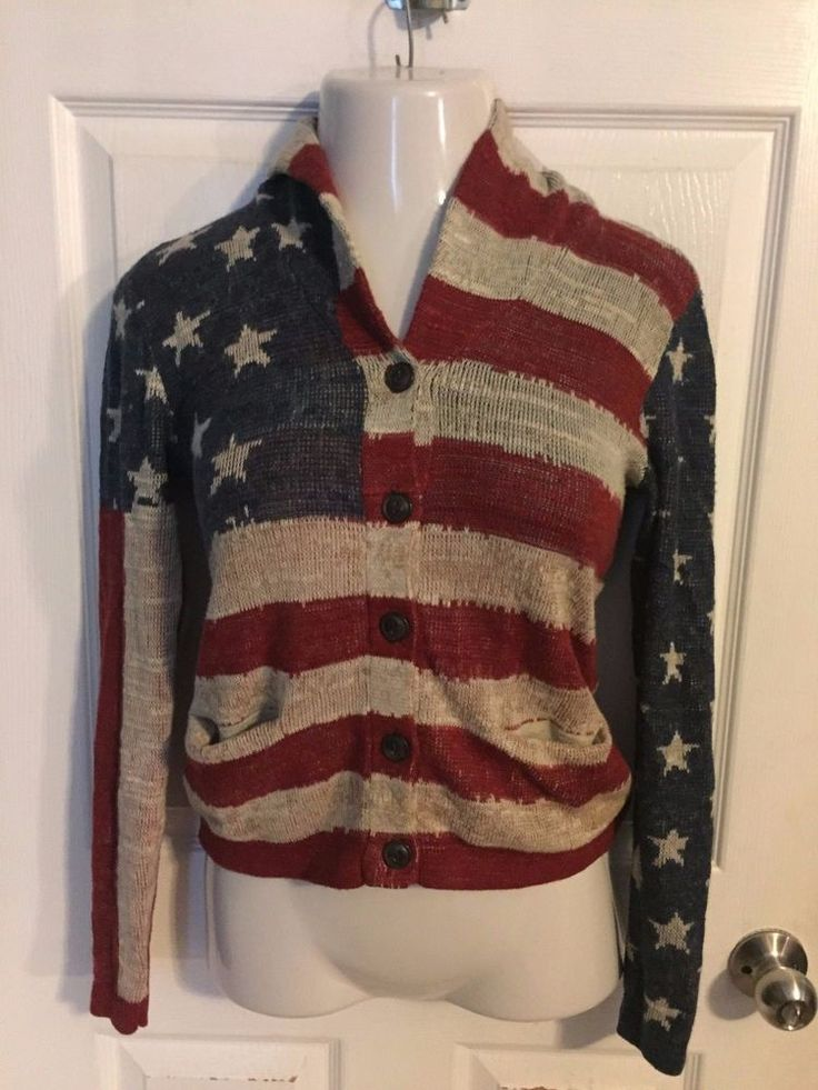 Ralph Lauren Denim and Supply Small American Flag Cardigan #DenimSupplyRalphLauren #Cardigan