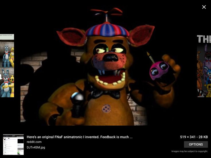 Hah all the animatronics from FNAF 1