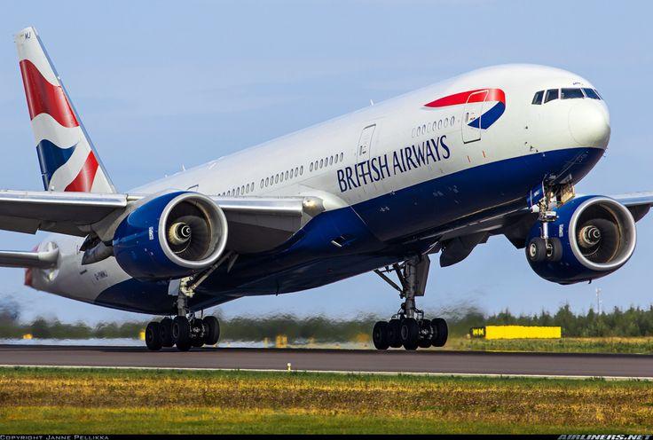 British Airways - Boeing 777-236/ER. Helsinki - Vantaa.