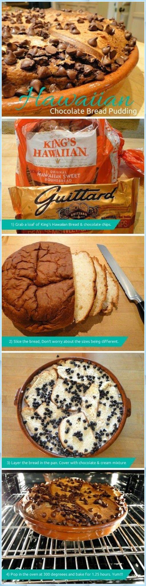 Mar 23, 2020 – Hawaiian chocolate bread pudding | I'm a big bread pudd – Chocolate Bread Pudding #best chocolate bread p…