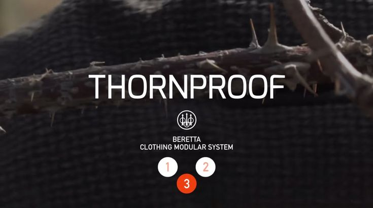 Beretta FW15/16   Thornproof Jacket Available at http://smarturl.it/9srmau