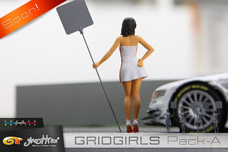 Slot cars, Ghost Trax Grid Girls