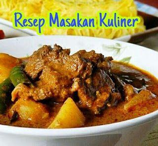 Resep Kari Daging Sapi Tanpa Santan