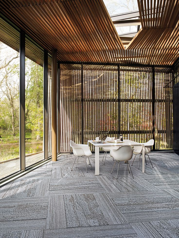 Near & Far is the latest carpet tile collection from Interface