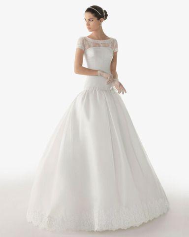 abito sposa 2013, abito sposa Rosa Clarà