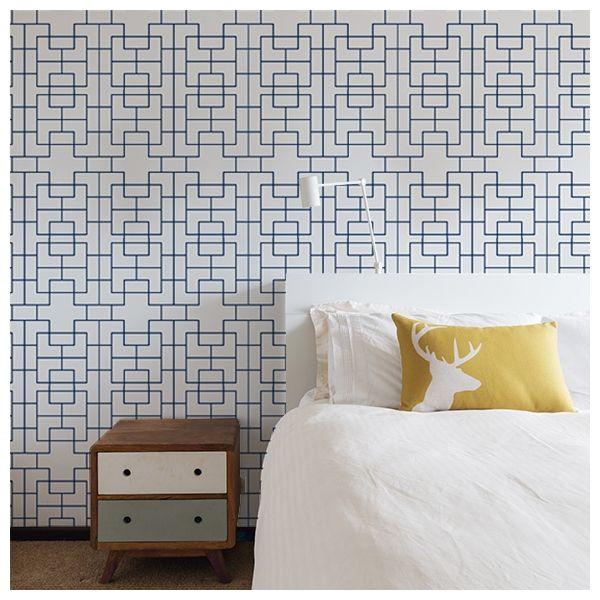 les 25 meilleures id es de la cat gorie papier peint gris sur pinterest papier peint chambre. Black Bedroom Furniture Sets. Home Design Ideas