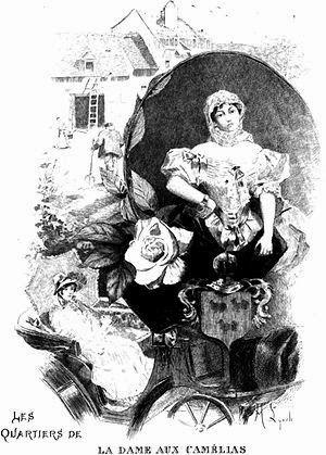 Historias y Pinturas: Dama de las camelias