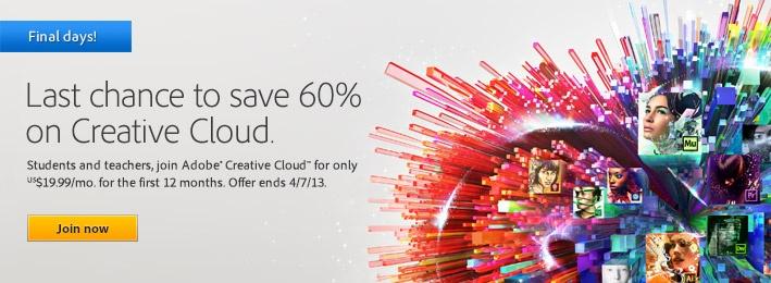 creative cloud promo