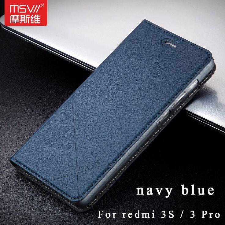 """Msvii Brand Xiaomi Redmi 3s case Wallet Leather Case xiaomi redmi 3 pro Stand Flip Leather Cover For redmi 3 s case 3s pro 5.0"""""""
