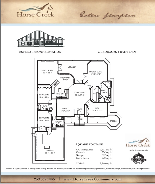 Daniel wayne homes estero model popular floor plans Wayne homes floor plans
