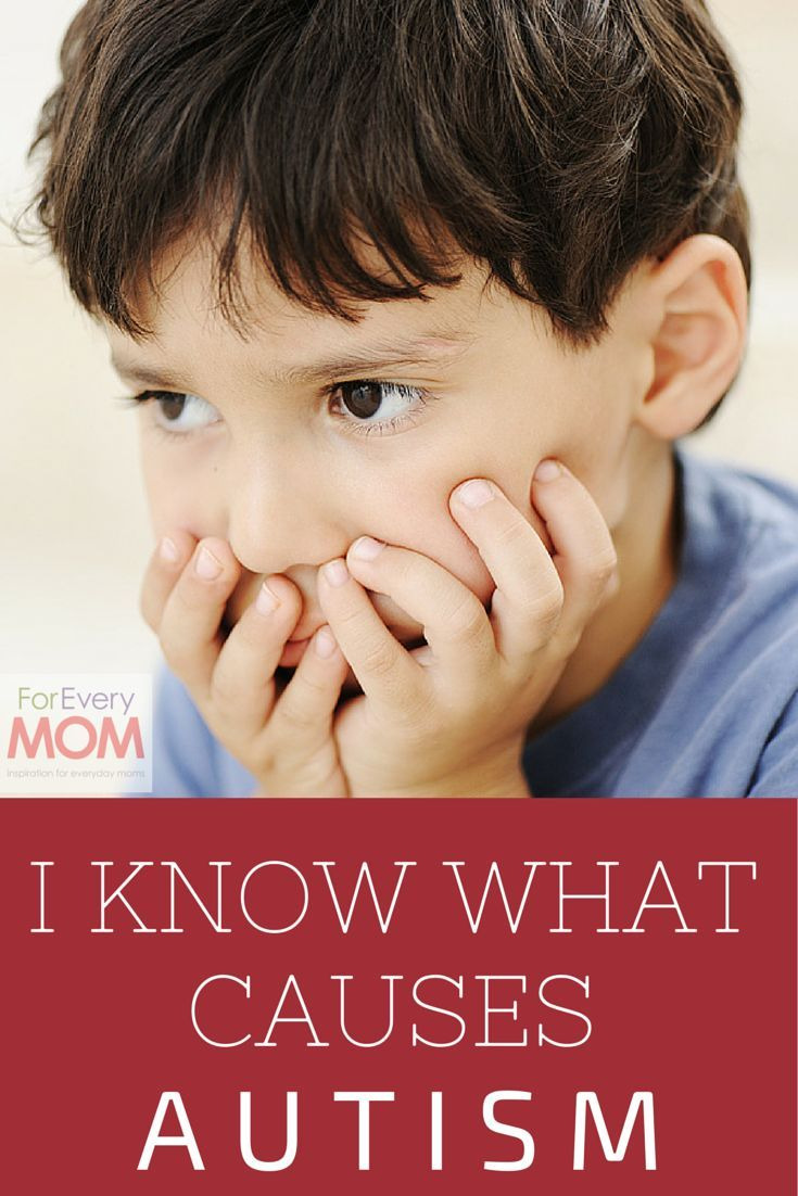 This Mom Says She Knows What Causes Autism, and Whoa - I Think She Might Be on to Something - For Every Mom. Repinned by SOS Inc. Resources pinterest.com/sostherapy/.