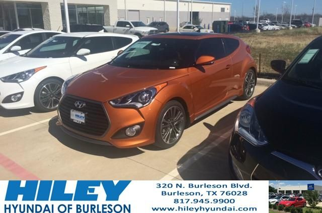 2016 Veloster Turbo, tech package. Great fuel efficiency, great for DFW traffic.  https://deliverymaxx.com/DealerReviews.aspx?DealerCode=KNWA  #Hileyhyundai #veloster #turbo #fuelefficient #arlington #HileyHyundaiofBurleson