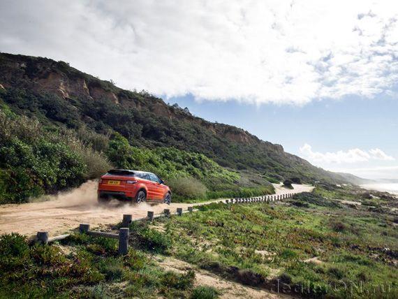Кроссовер Рендж Ровер Эвок Автобиографи Дайнемик / Range Rover Evoque Autobiography Dynamic 2015
