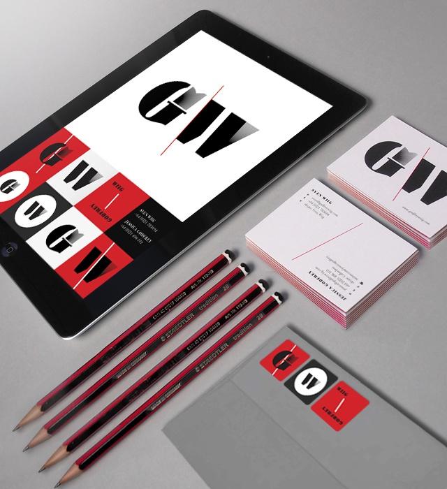 Godfrey/Wiig identity design