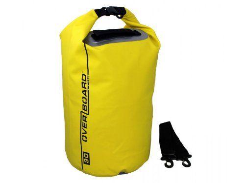 Overboard Wasserdichter Packsack, Gelb, 30 Liter, OB1006Y