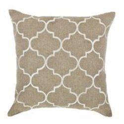 Bocce Ivory Cushion (Small)
