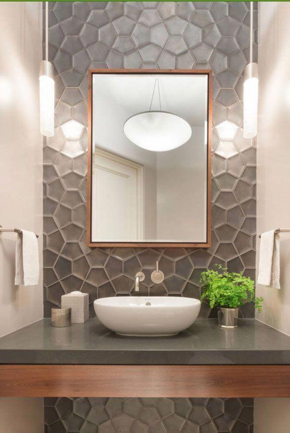 59 Phenomenal Powder Room Ideas Half Bath Designs Baths Modern Rooms Design