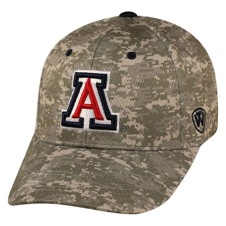 Adult Top of the World Arizona Wildcats Digital Camo One-Fit Cap, Men's, Grey Other