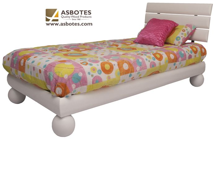 Lee Bed (Single) (Exclude bedding & mattress) Available in various colours. For more details contact us on (021) 591-0737 or go to our website www.asbotes.com