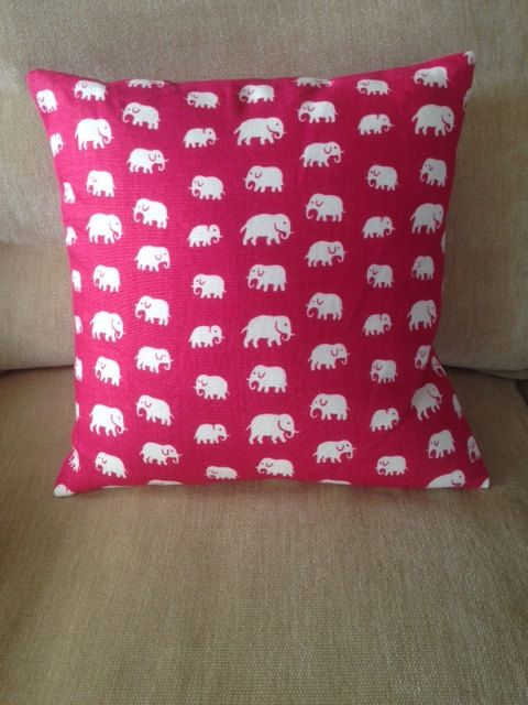 Estrid Ericson, founder of Svenskt Tenn, created the Elephant pattern in the 1930s. Svenskt Tenn's textiles are printed by hand, mainly in