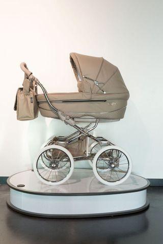 Stijlvolle kinderwagen