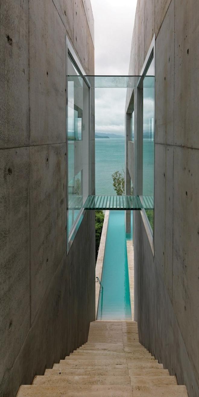 paola gambetti infinite swimming pool modern architecture
