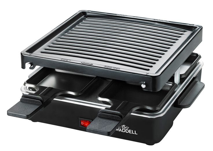 NEW DAVIS + WADDELL 4 PERSON ELECTRIC PARTY GRILL Tepinyaki Raclette Barbeque BBQ