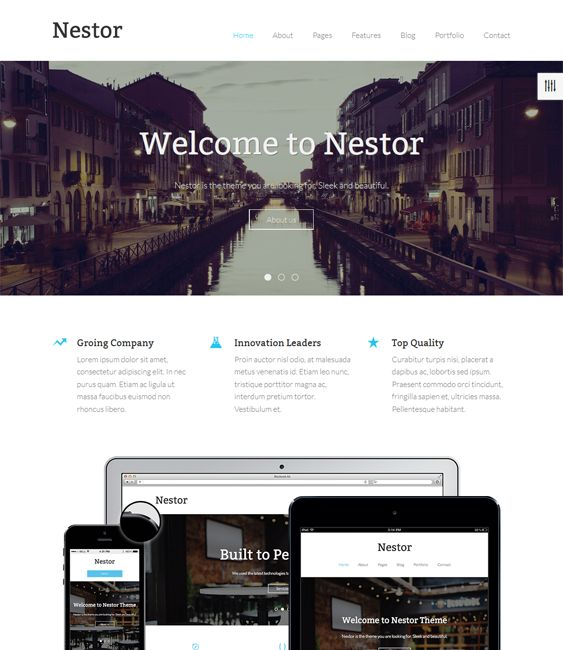 12 best 12 more of the best parallax drupal themes images on this parallax drupal theme features a responsive layout bootstrap integration a clean design pronofoot35fo Gallery