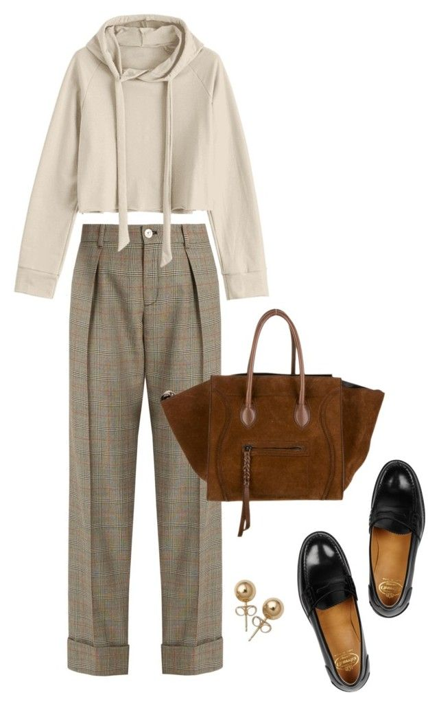 """Untitled #690"" by szudi on Polyvore featuring Gucci, Church's and Bling Jewelry"