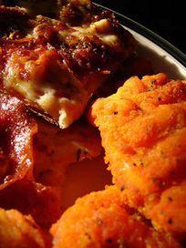 Recette de fingers de poulet croustillants aux épices, en pâte à gaufre - nuggets - (Lousiane, Etats Unis)