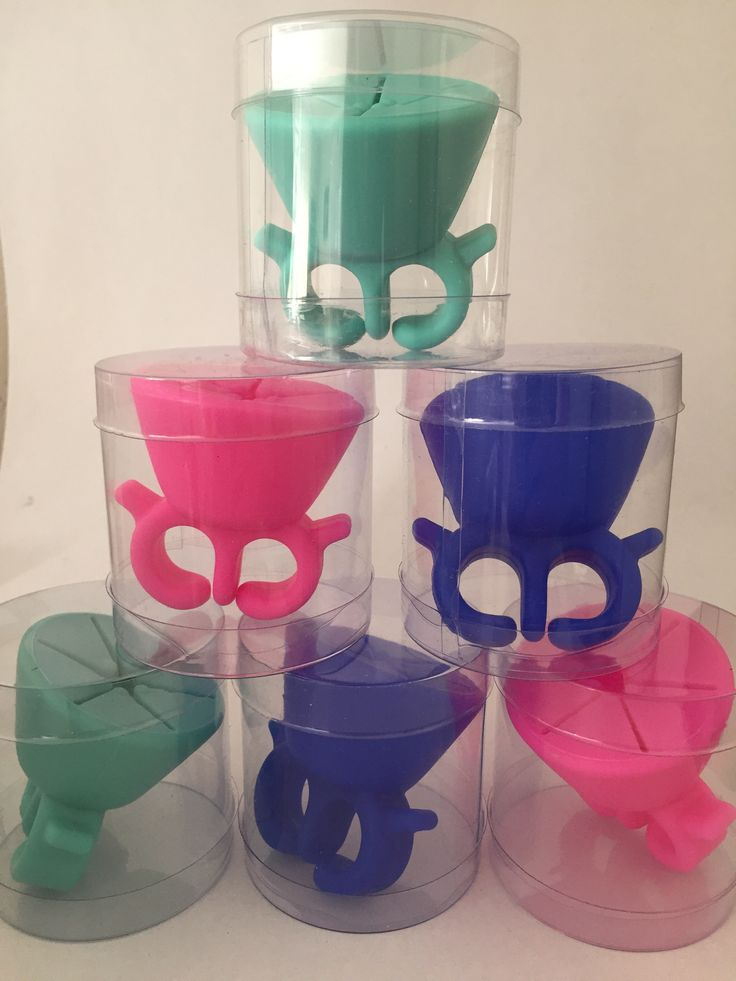 Our tubes are perfect for any sized product! These smaller tubes perfectly house nifty nail polish holders.. Who knew?