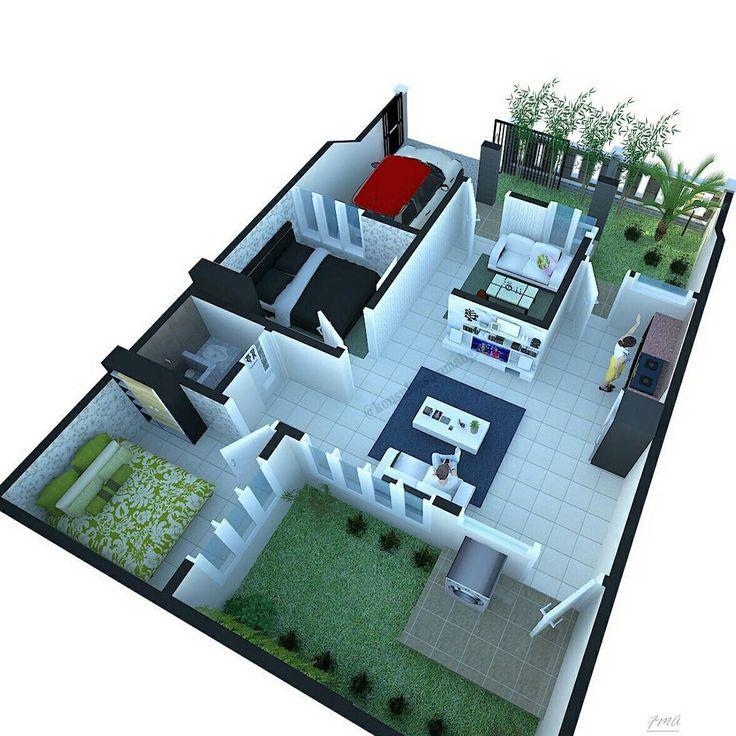 Denah Rumah Type 36 Terbaru
