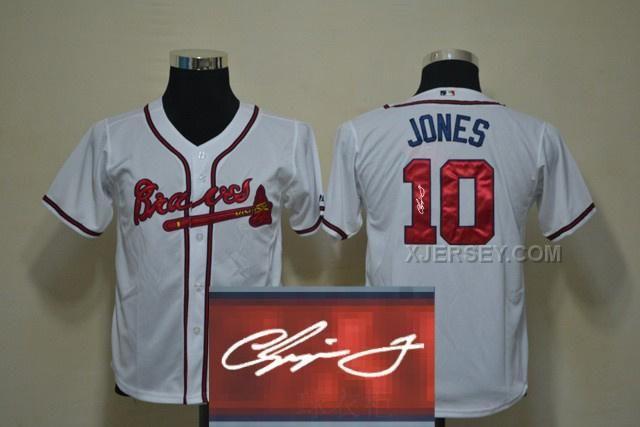 http://www.xjersey.com/braves-10-jones-white-signature-edition-youth-jerseys.html BRAVES 10 JONES WHITE SIGNATURE EDITION YOUTH JERSEYS Only $35.00 , Free Shipping!
