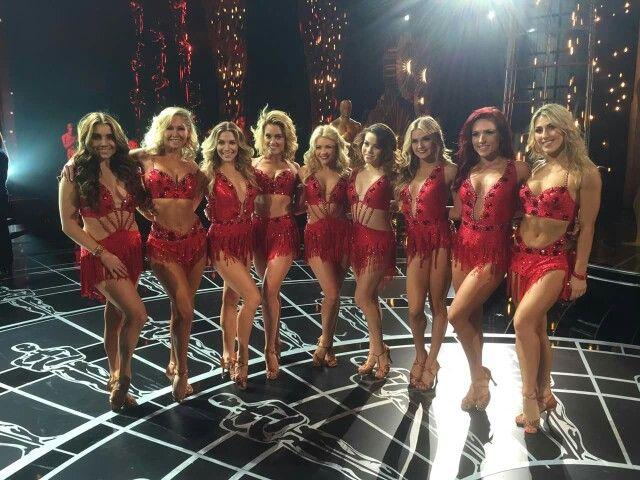 Dancing With the Stars  -  Jenna...Emma... Sharna...Witney...Peta...Allison...Kym  -  Season 20  -  Spring 2015